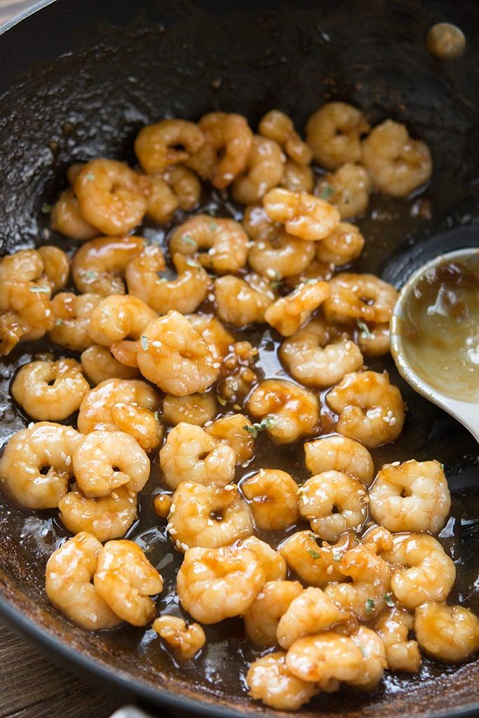 Teriyaki Sauce + Teriyaki Shrimp