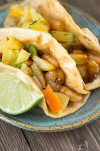 Teriyaki Shrimp Tacos