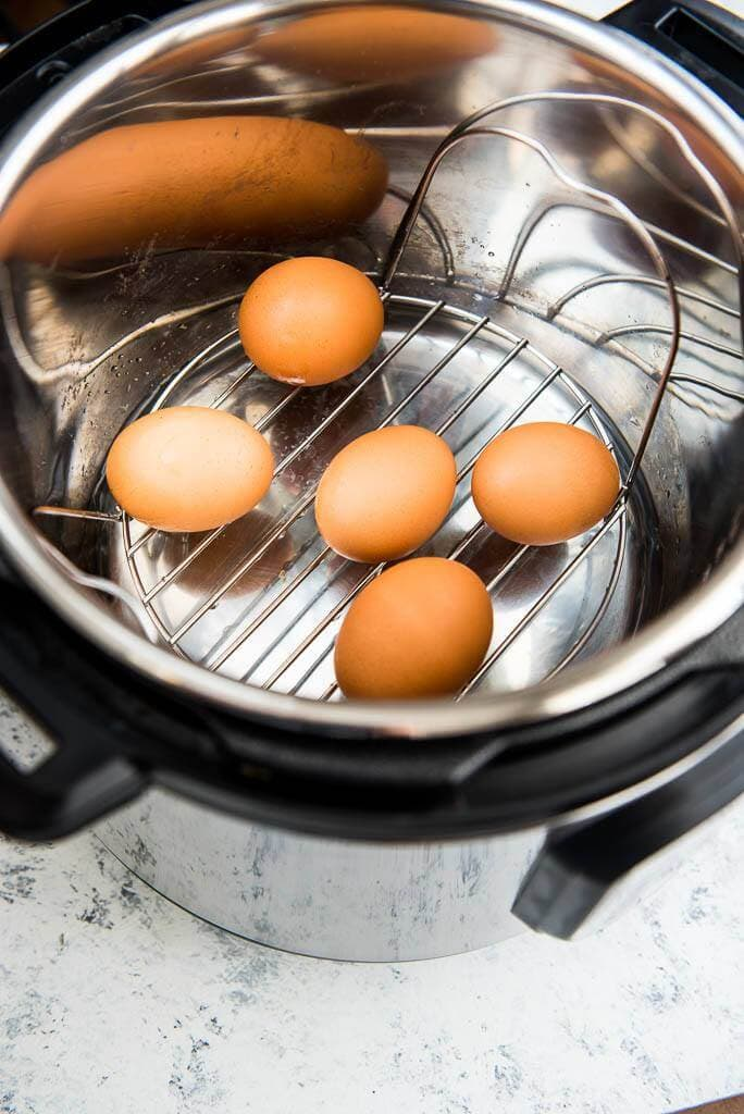 Instant Pot Hard Boiled Eggs are the simplest and most foolproof way of making Hard Boiled Eggs every time!