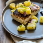 Pan Seared Halibut Recipe with Pineapple Salsa
