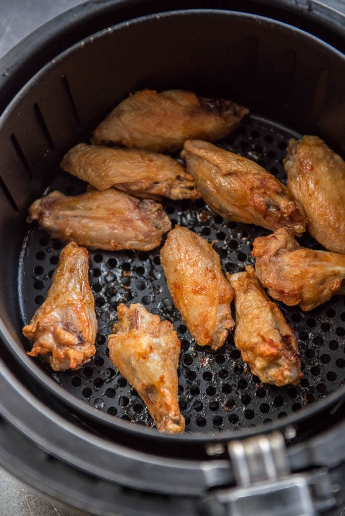 How to make good grilled hot wings in air fryer oven