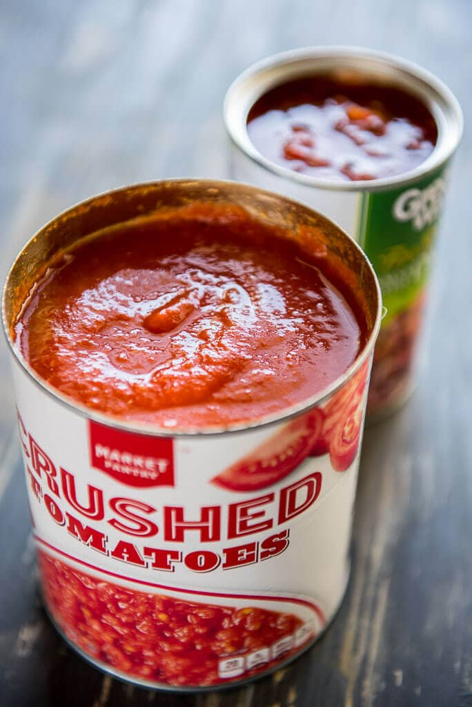 canned crushed tomatoes for the best IPA beer chili