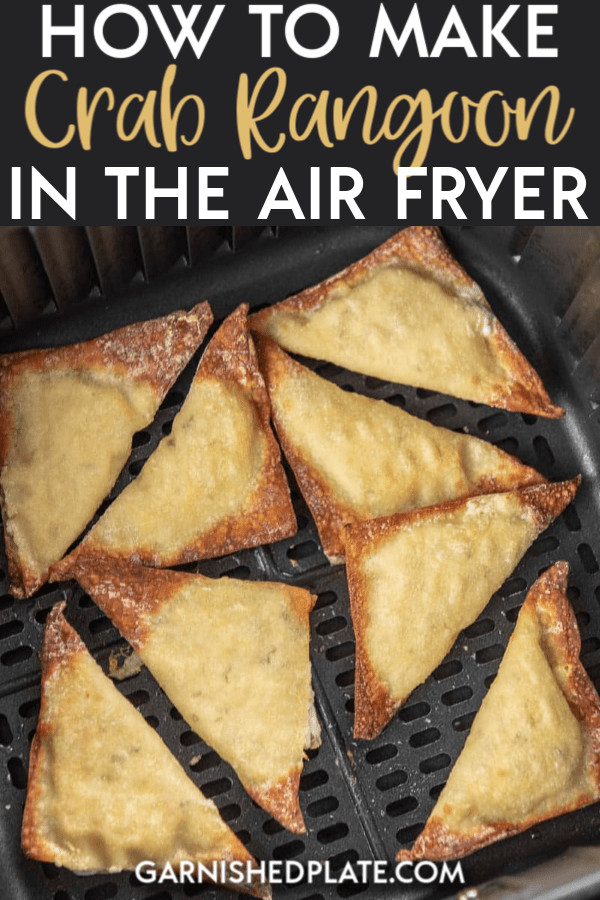 One of life's skills you never knew you needed! Once I show you how to make Crab Rangoon in the air fryer, you will be making them on a regular basis. So easy and delicious, my family says they are better than the ones from our favorite restaurant! #airfryer #crabrangoon #chinesefood