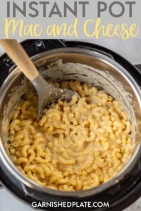 If you could make homemade mac and cheese in less time than it takes to make that stuff from a box, would you? This Instant Pot Mac and Cheese is so quick and easy and uses REAL cheese and will certainly become your go-to recipe from here until forever! #instantpot #macandcheese #homemademacandcheese