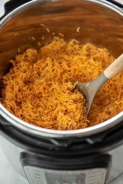 Spanish rice in instant pot