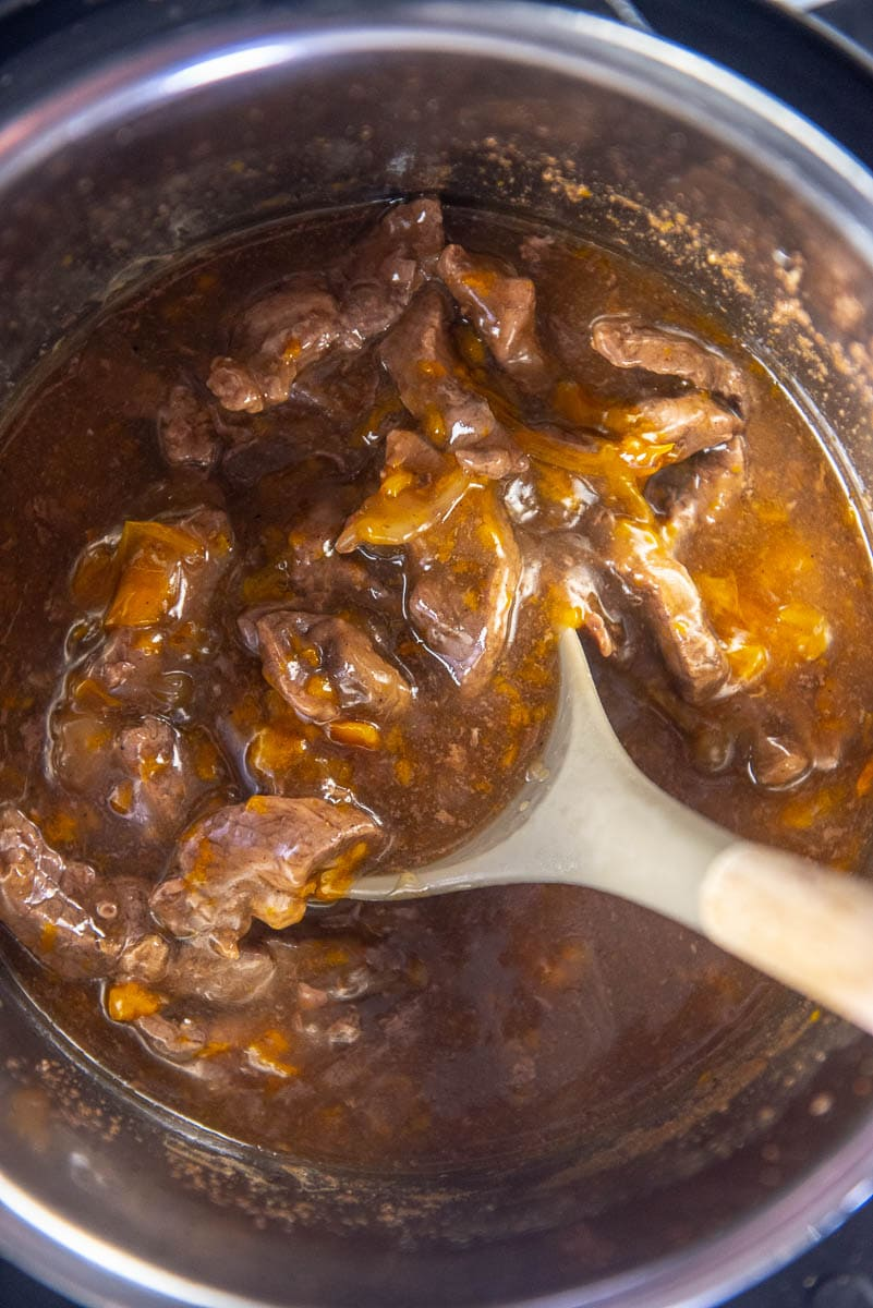 pepper steak in instant pot