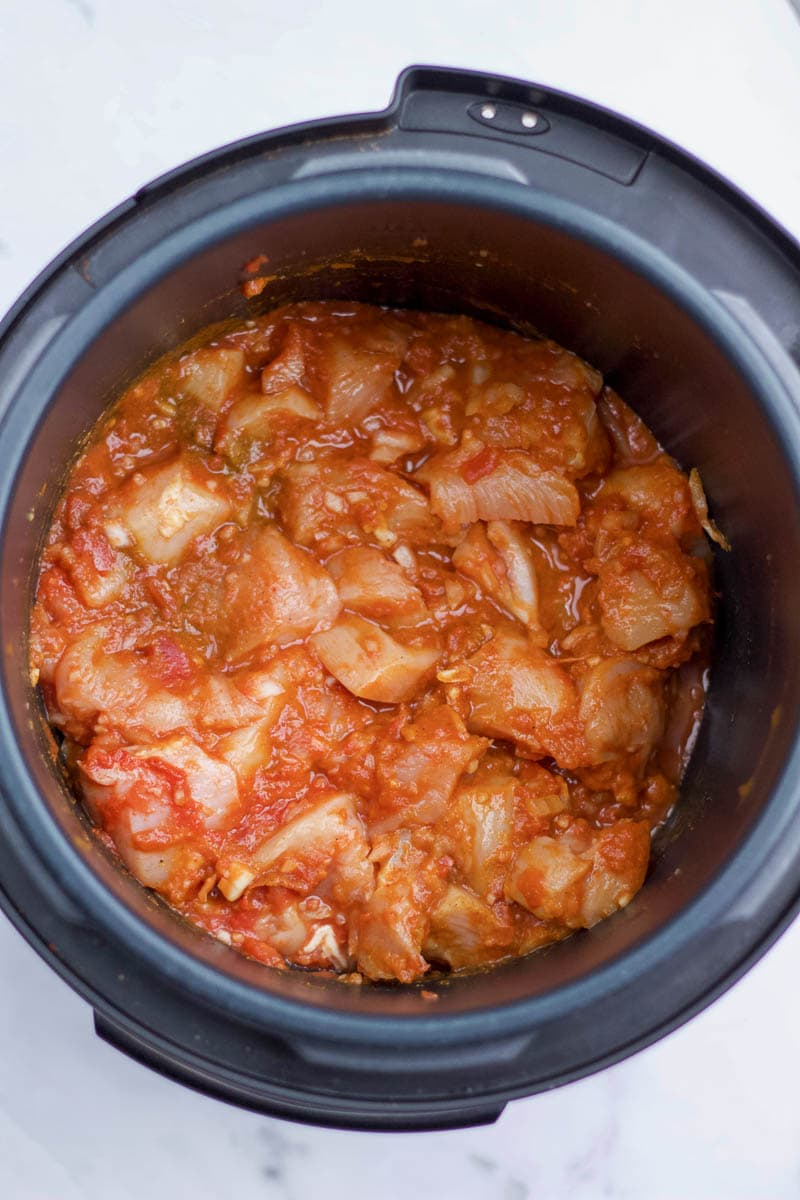 butter chicken ready to cook in instant pot