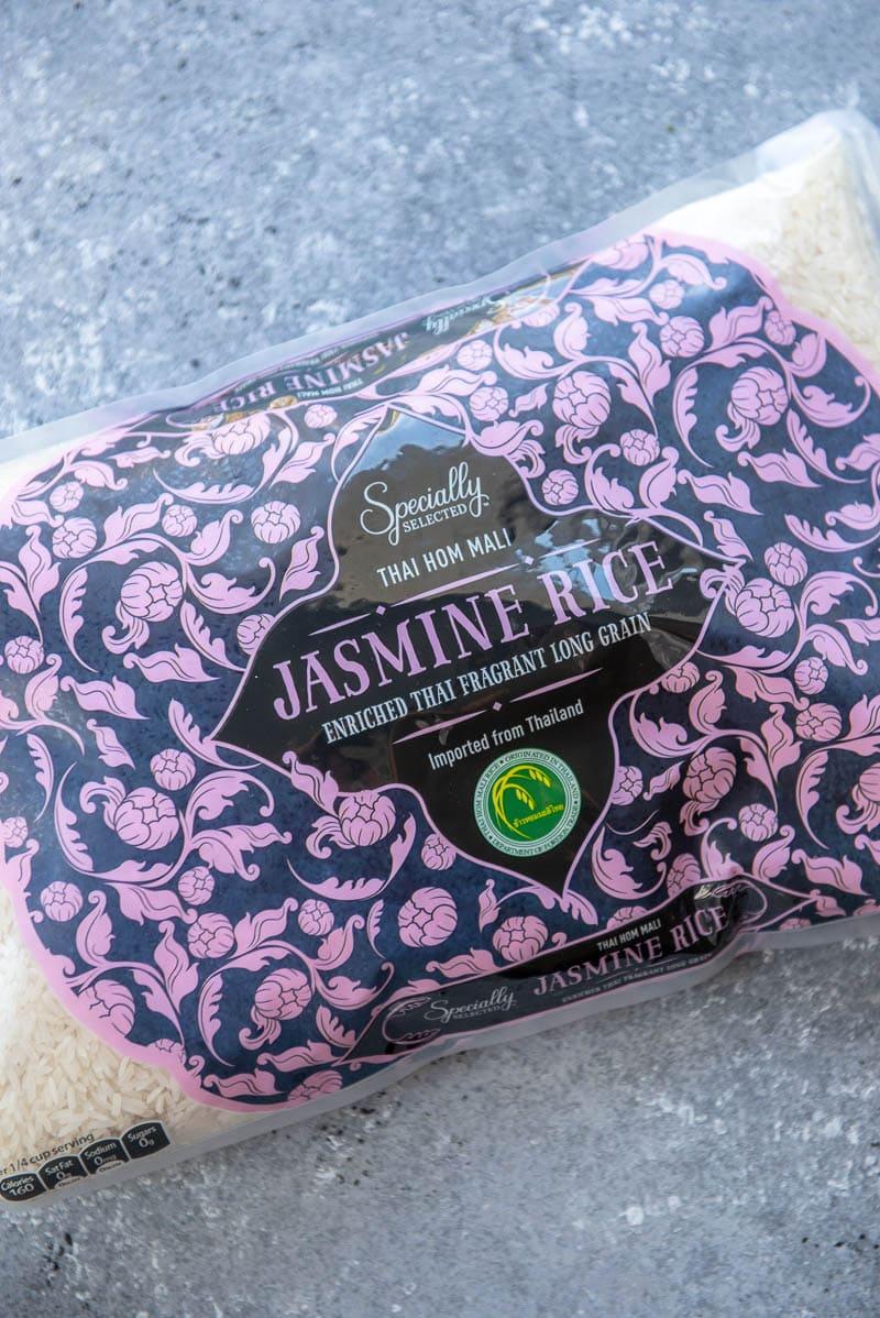 bag of jasmine rice