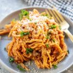 sneaky veggie spaghetti