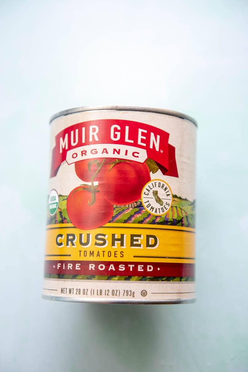 can of crushed fire-roasted tomatoes